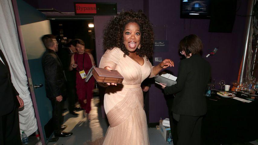 Oprah Winfrey 2015 bei den Academy Awards in Los Angeles