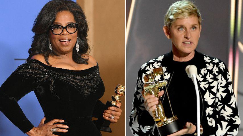Schlammlawine in Kalifornien: Oprah & Ellen sind betroffen