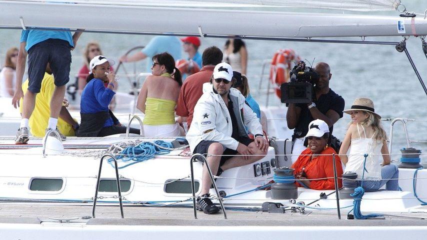 Russell Crowe und Oprah Winfrey