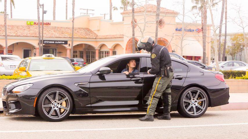 Erwischt! Orlando Bloom von der Polizei gestoppt