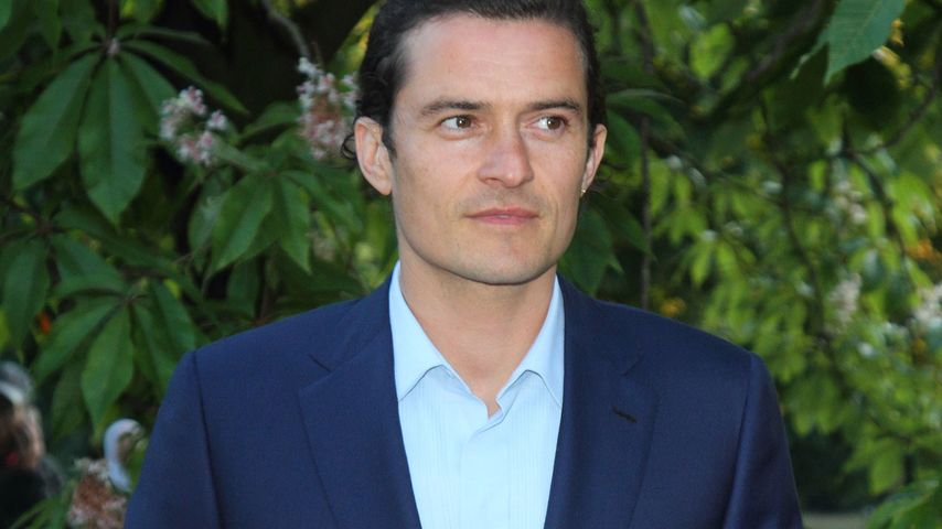Orlando Bloom: 1. Star im Ebola-Katastrophengebiet