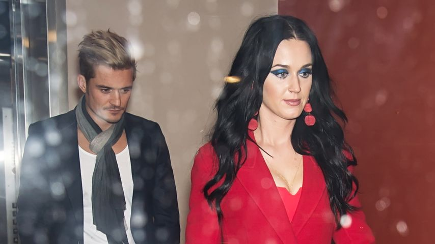 Orlando Bloom und Katy Perry in Philadelphia