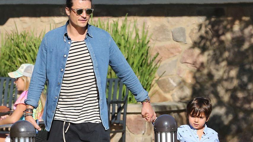 Orlando Bloom und Sohn Flynn