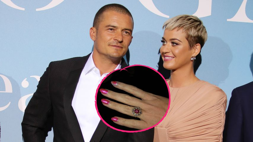 Liebes-Überraschung: Katy Perry & Orlando sind verlobt!