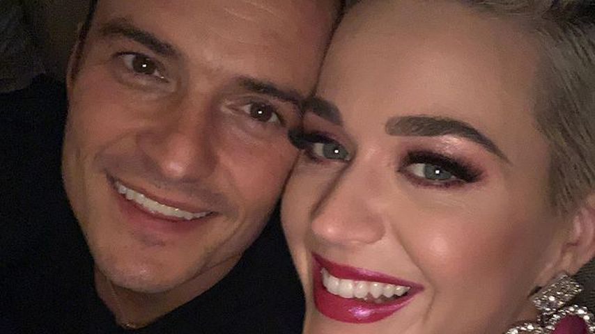 Schauspieler Orlando Bloom und Sängerin Katy Perry