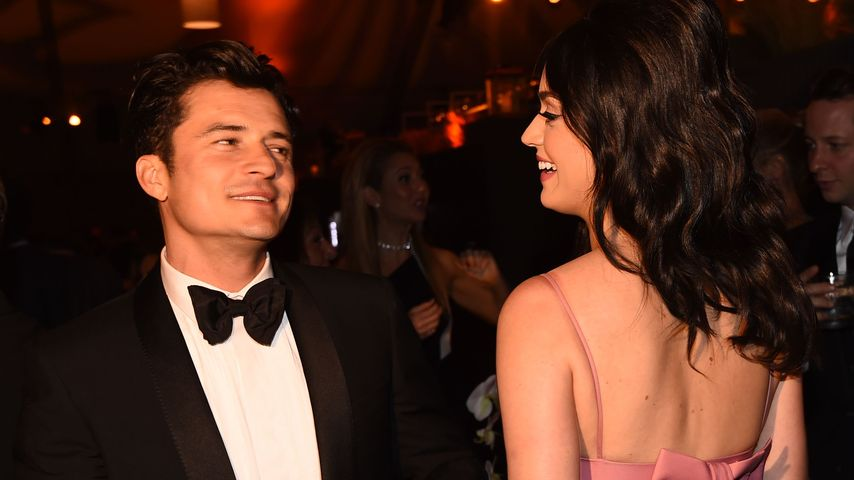 Katy Perry und Orlando Bloom bei den Golden Globes 2016