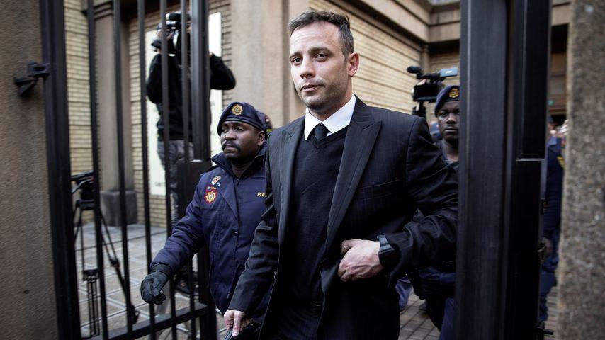 Oscar Pistorius bei einem Gerichtstermin, 2016