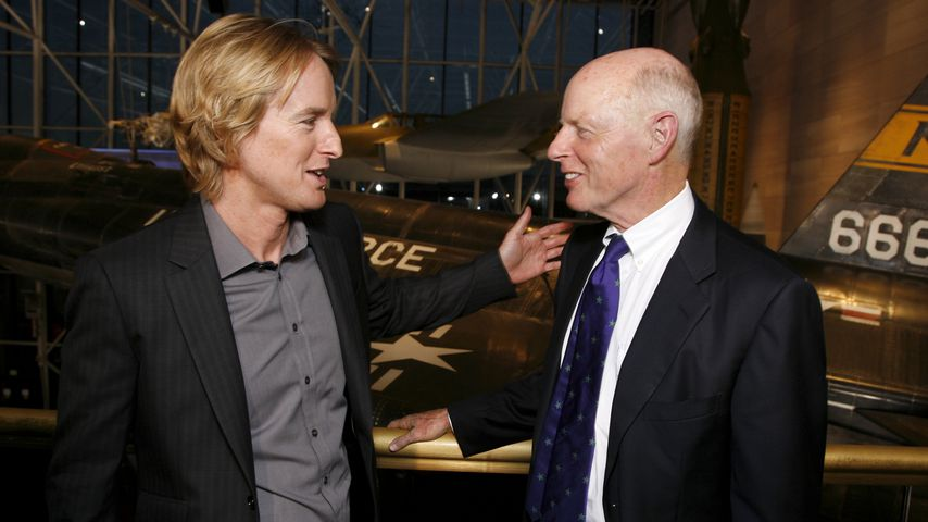 Owen Wilson und sein Vater Robert bei einem Event in Washington 2009