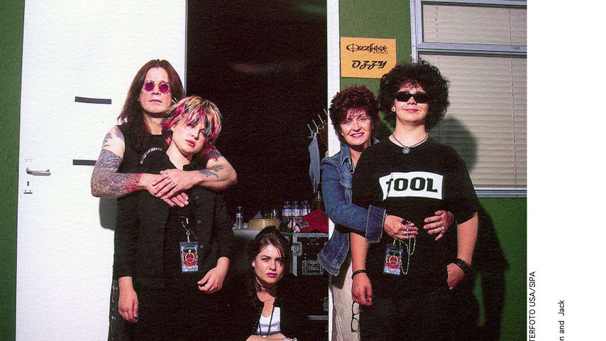 Ozzy, Kelly, Aimee, Sharon und Jack Osbourne