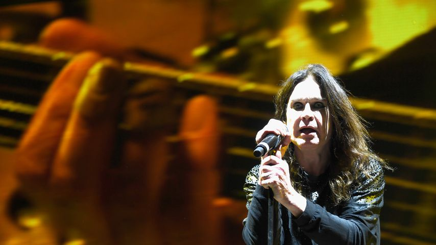 Ozzy Osbourne bei einem Konzert in Los Angeles