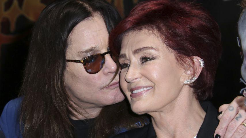 Ozzy Osbourne mit seiner Frau Sharon