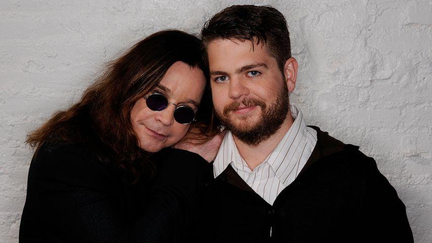 Ozzy und Jack Osbourne beim Tribeca Film Festival 2011 in New York City