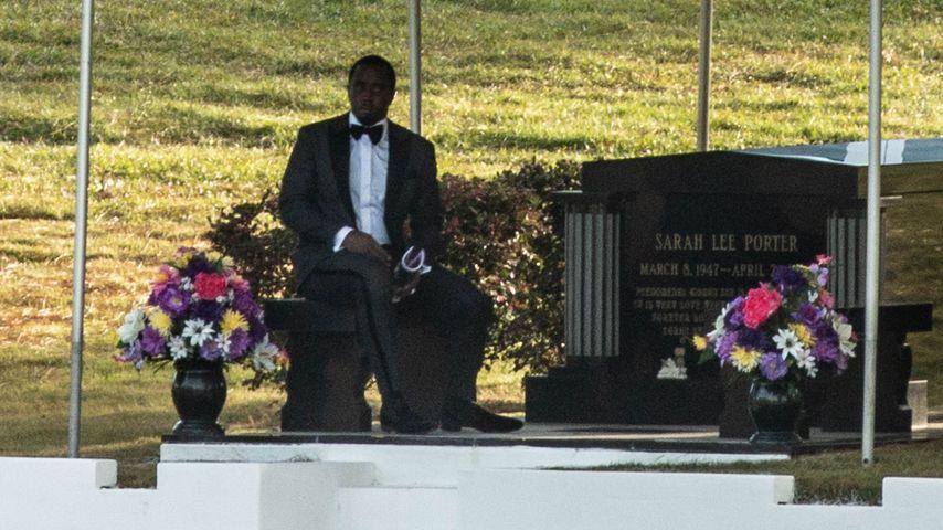 Trauernder P. Diddy: So emotional war Kim Porters Beerdigung