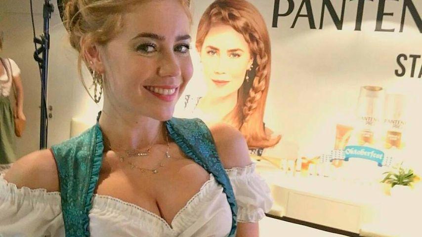 Palina Rojinski beim Oktoberfest 2016