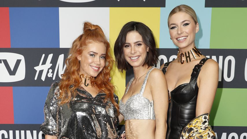 So crazy gestylt waren die Promi-Ladys bei Moschino-Event