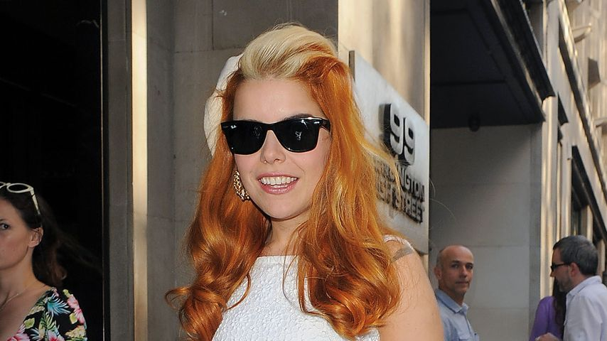 Trend oder Trash? Paloma Faith mit Socken in Pumps