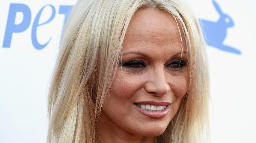 Pamela Anderson bei einer Veranstaltung von PeTA