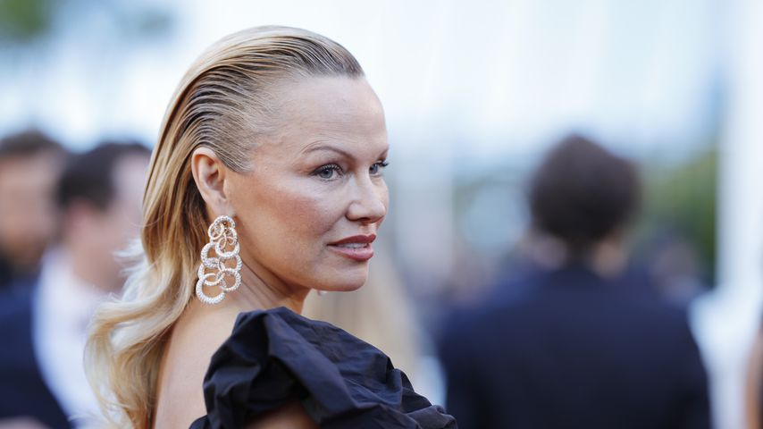Pamela Anderson bei dem Film Festival in Cannes