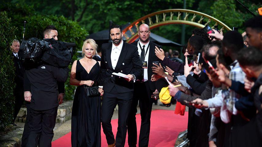 Pamela Anderson und Adil Rami in Paris, Mai 2019