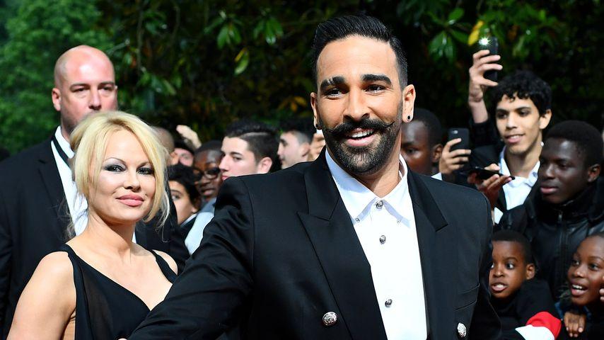 Pamela Anderson und Adil Rami im Mai 2019 in Paris
