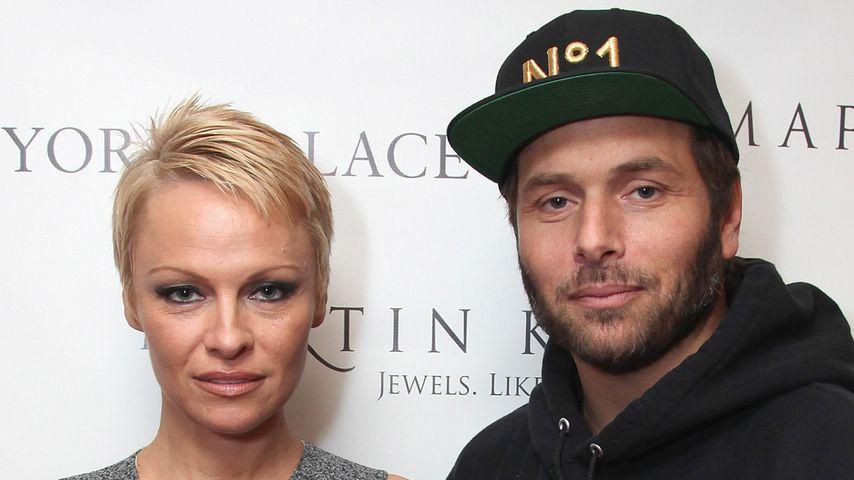 Pamela Anderson und Rick Salomon, 2013