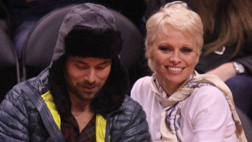 Pamela Anderson und Rick Salomon