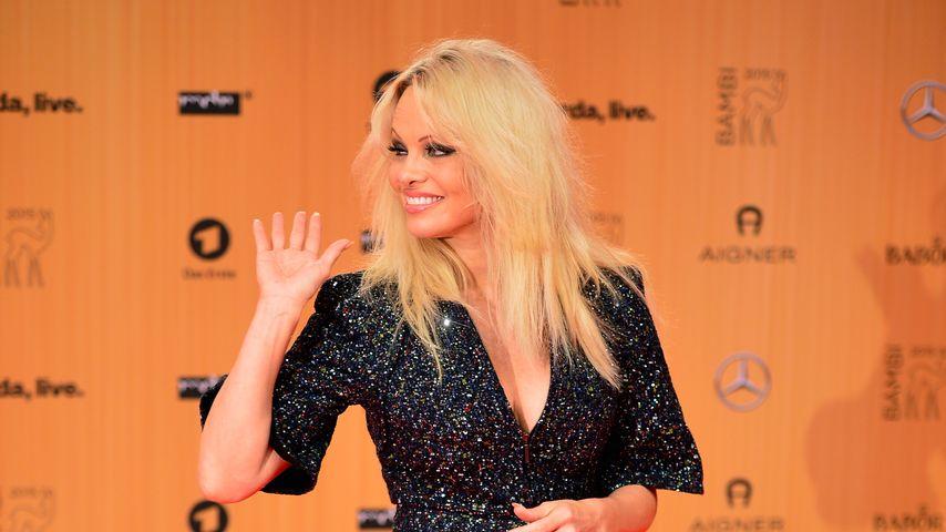 Wow-Auftritt: Pamela Anderson strahlt nach Hepatitis-Heilung
