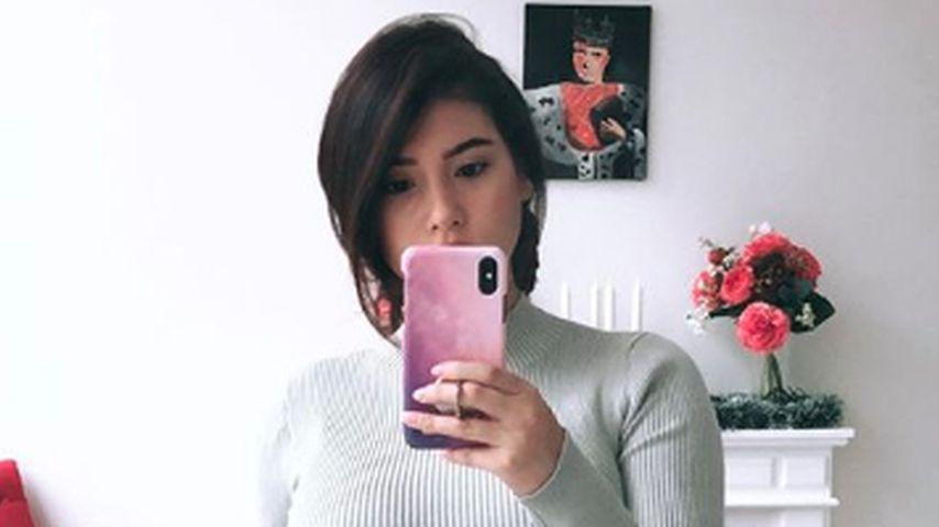 Paola Maria im neunten Monat der Schwangerschaft