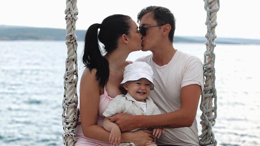 YouTuberin Paola Maria mit ihrer kleinen Familie