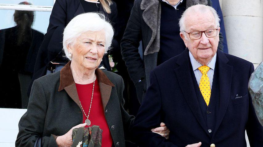 Königin Paola und Albert II. von Belgien