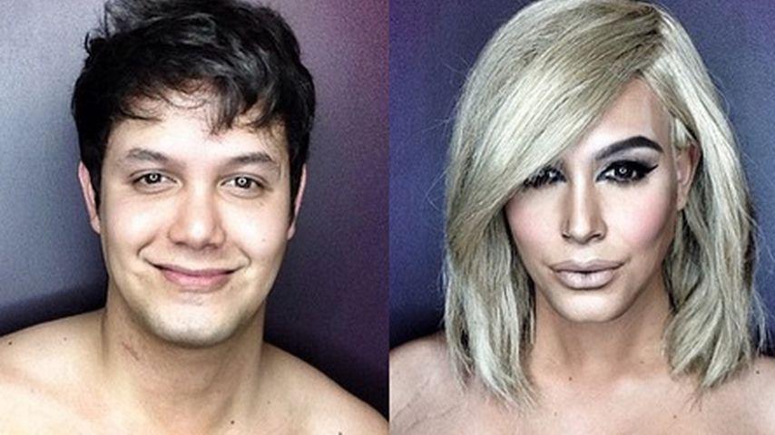 Dank Make-up: Dieser Mann wird zu Kim Kardashian!