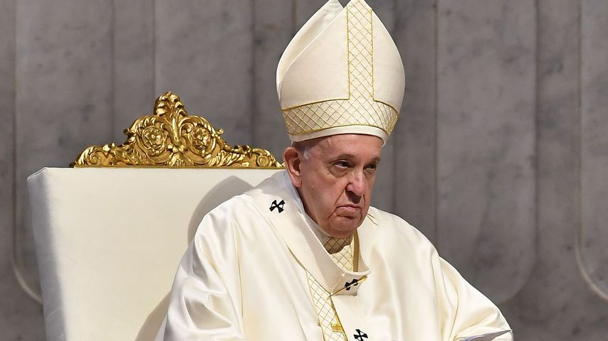 Papst Franziskus im Juni 2020