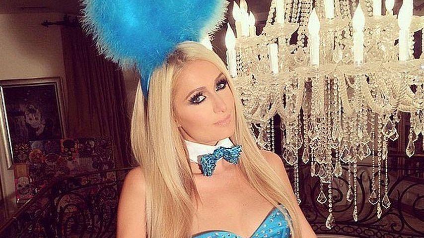 Sieht so ein Osterhase aus? Paris Hilton im Bunny-Kostüm