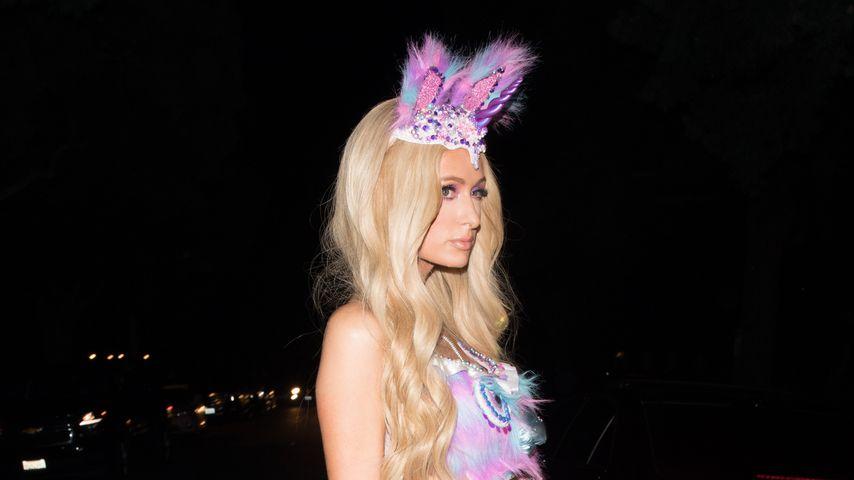 Crazy Halloween-Kostüm: Paris Hilton geht als Glitzer-Fee!