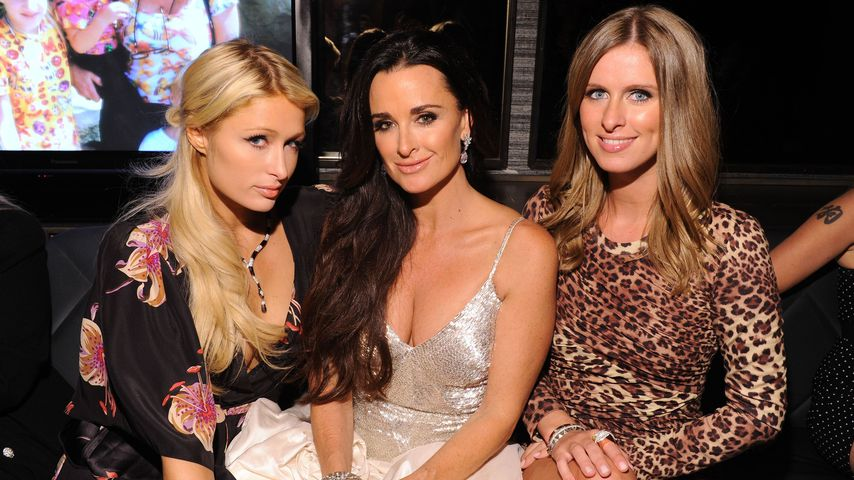 Paris Hilton, Kyle Richards und Nicky Hilton 2010