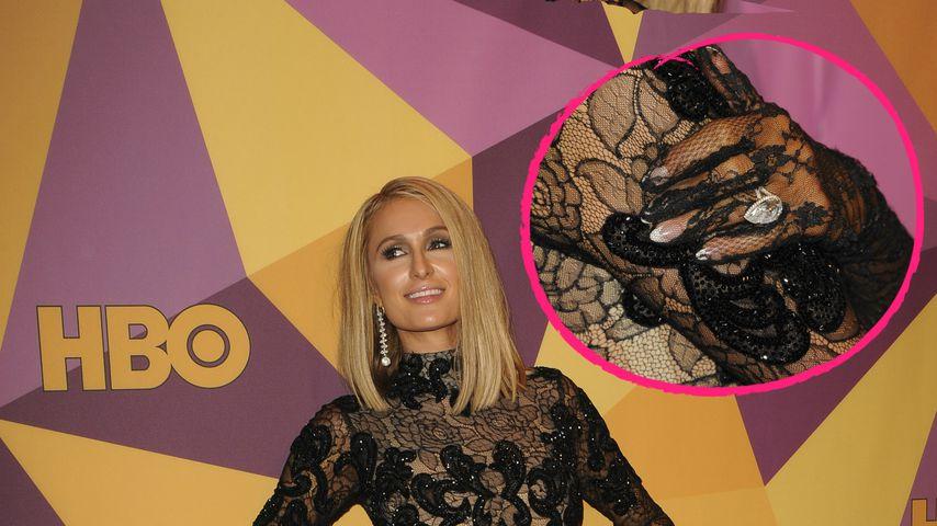 Paris Hilton: Erster Red Carpet mit 2-Millionen-Klunker!