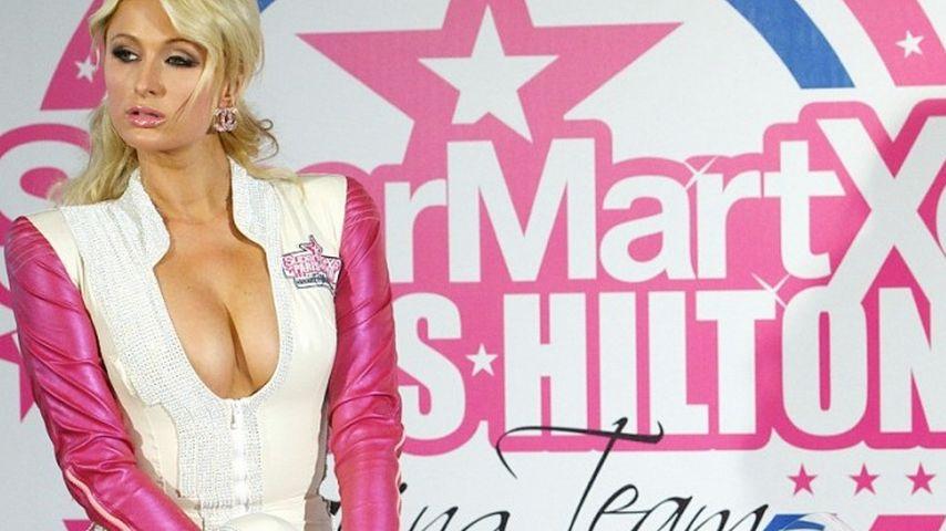 Oho! Paris Hilton als vollbusige Biker-Braut