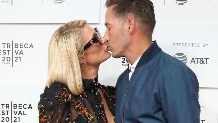 Paris Hilton und Carter Reum