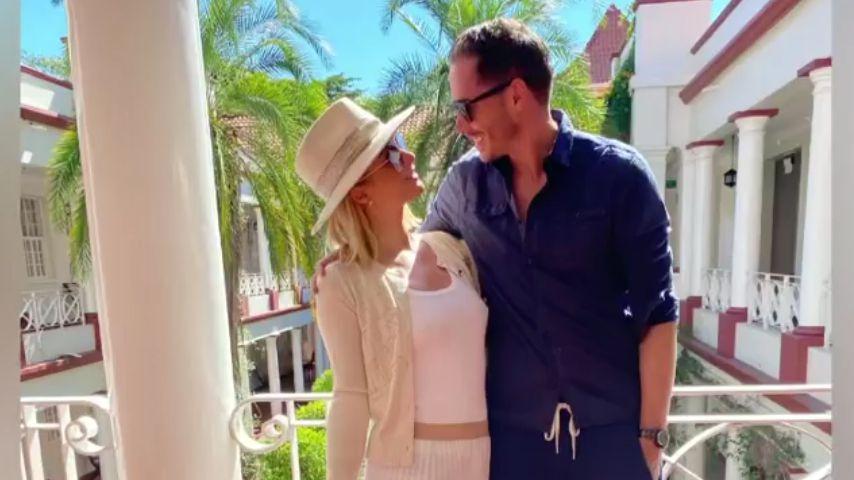 Paris Hilton und Carter Reum im Juni 2021