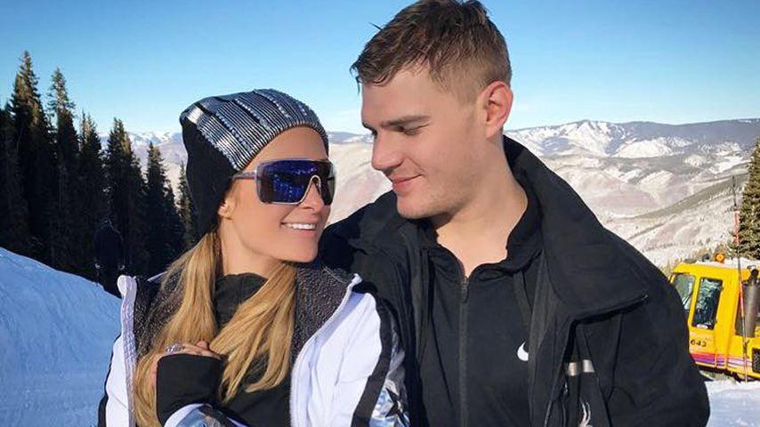 Paris Hilton und Chris Zylka in Aspen