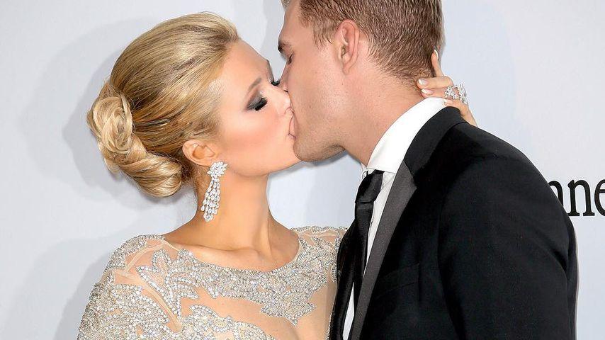 Paris Hilton und Chris Zylka, Dezember 2017