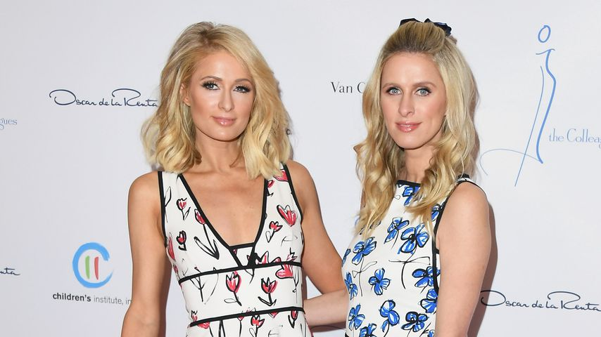 Paris Hilton und Nicky Hilton beim The Colleagues And Oscar de la Renta's Annual Spring Luncheon