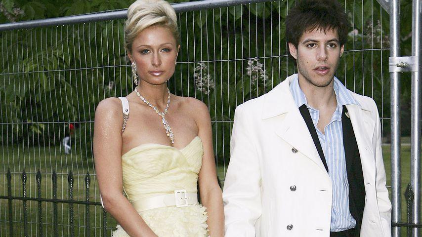 Paris Hilton und Paris Latsis in London im Juni 2005