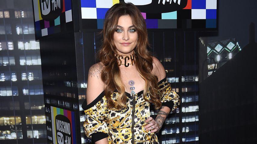 Paris Jackson bei der Moschino x H&M Fashion-Show in New York City