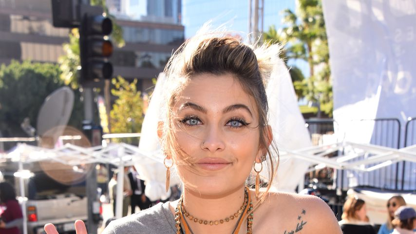 Paris Jackson beim Women's March in Los Angeles