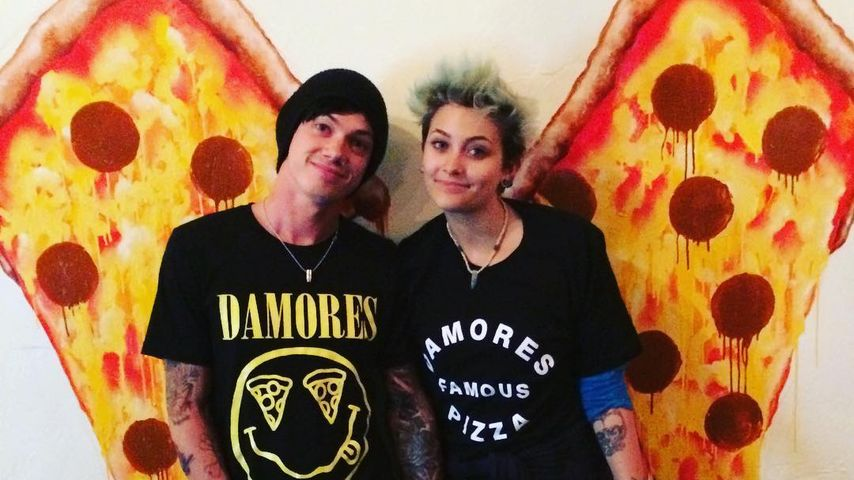 Paris Jackson und Michael Snoddy in Pizzeria in L.A.