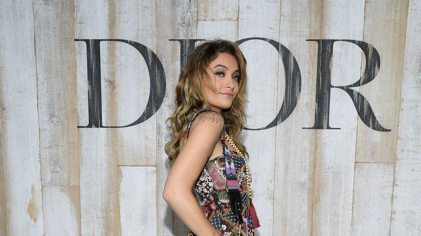 Paris Jackson bei dem Photocall zu einer Dior-Fashionshow