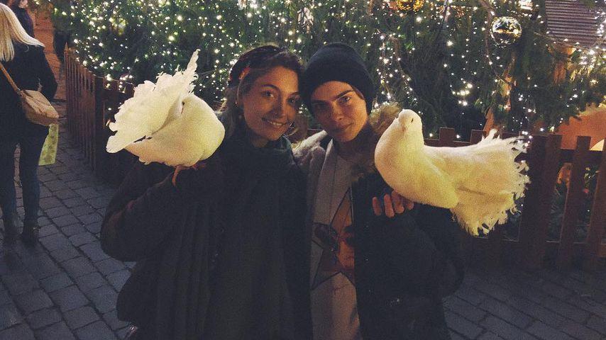 Paris Jackson und Cara Delevingne, Models
