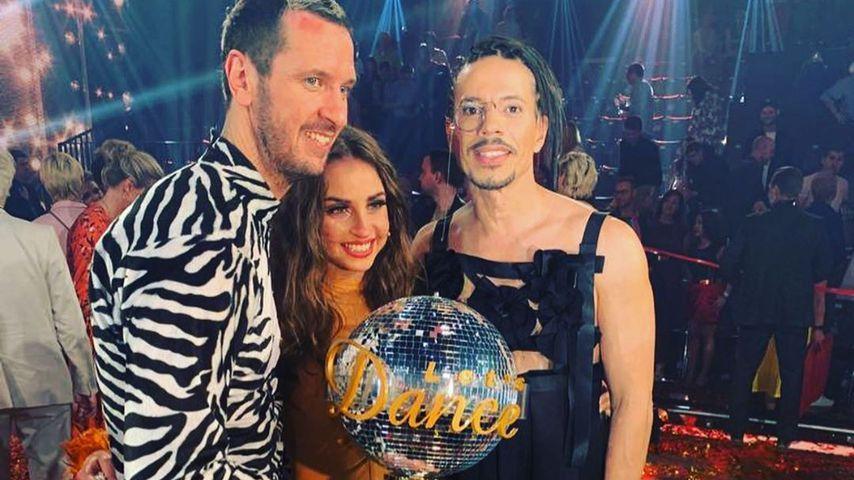 Pascal Hens, Ekaterina Leonova und Jorge Gonzalez