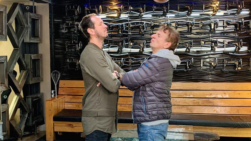 Pascal Hens und Ingolf Lück